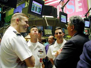 Wall Street Stock Exchange Image Credit: US Defense Department
