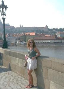 Ali in Prague